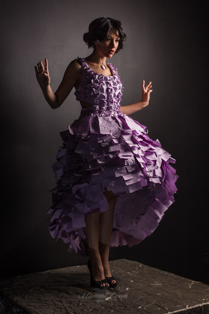 Lux Lacheln Designs – Paper Dress