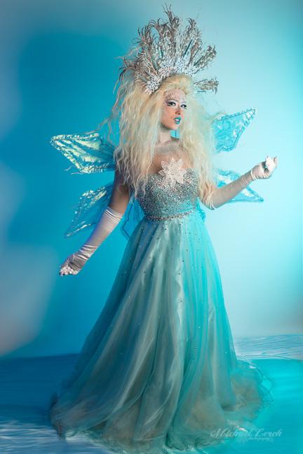 Costume Photography for Entertainer Maya Papaya