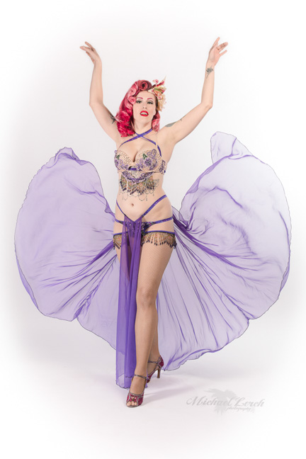 Holly Dai Burlesque Promotional Photo